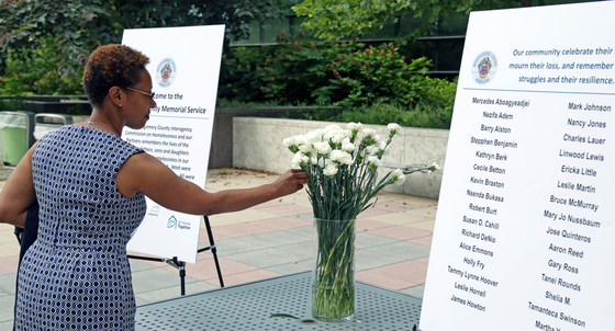 remembering homeless individuals