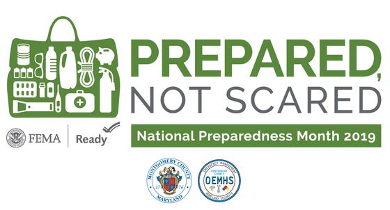 prepared, not scared