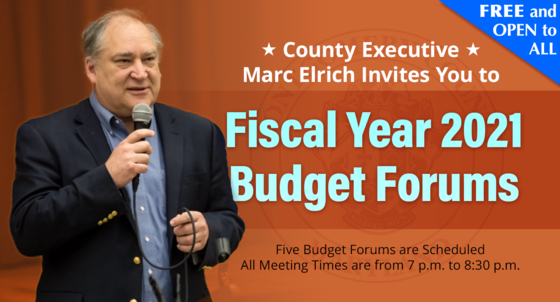 fy2021 budget forums