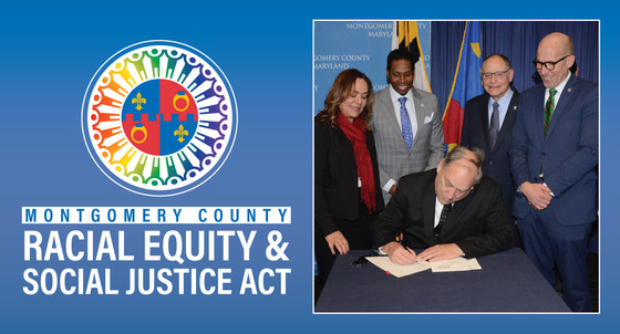 County Executive Marc Elrich Signs First Racial Equity and Social Justice Act