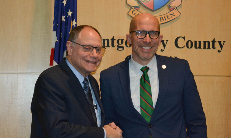 Montgomery County Council Elects Sidney Katz as President, Tom Hucker as Vice President