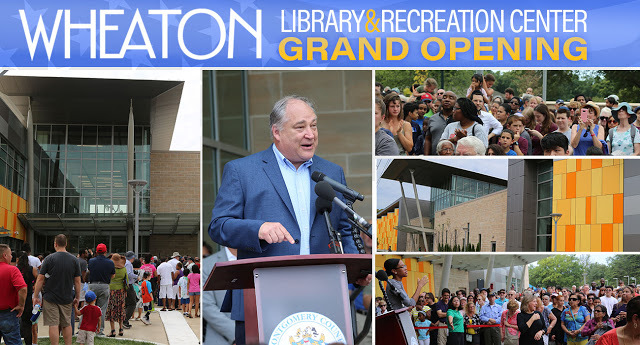 wheaton Library & Rec Center Grand Opening