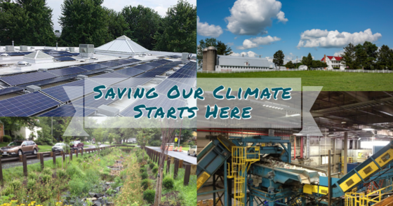 Saving Climate Starts Here