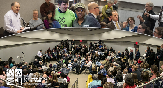 climate town hall meeting