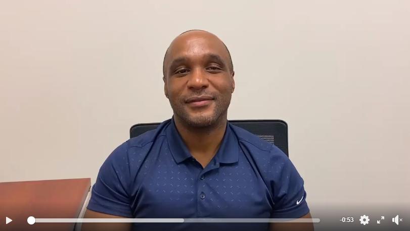video of Dr. Travis Gayles