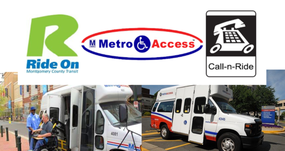 metroaccess, rideon, and call-n-ride
