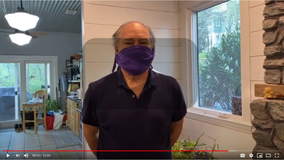 mask video by County Executive Marc Elrich