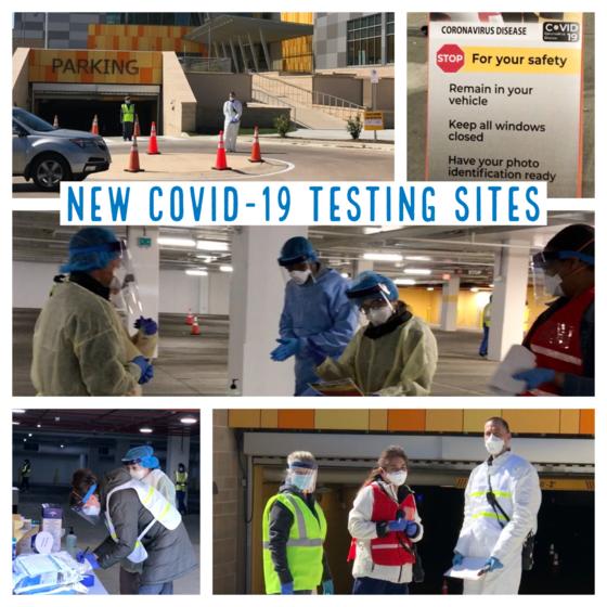 new testing sites