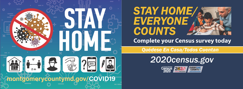 stay home and do census 2020
