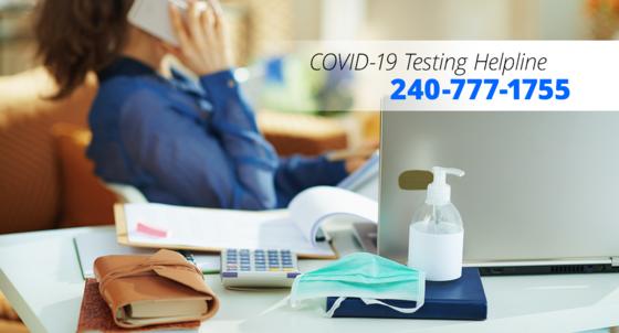 covid-19 testing helpline
