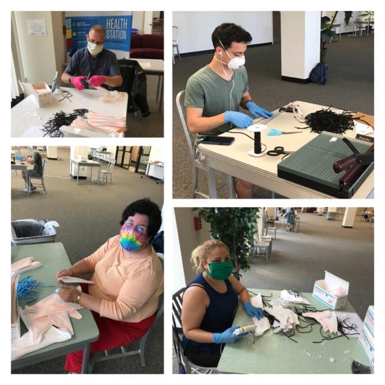 Volunteers Refurbish Used N95 Masks to Assist First Responders During COVID-19 Crisis