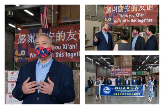 County Receives 20,000 Masks from Sister City Xi'an, China, to Aid Response to COVID-19 Health Crisis