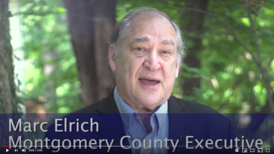 video from County Executive Marc Elrich