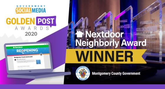 Nextdoor Neighborly Award