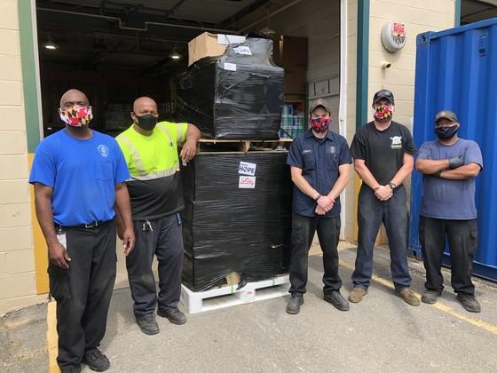 warehouse crews