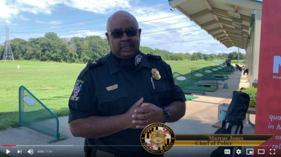 Police Chief Marcus Jones