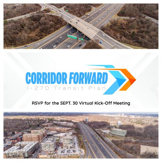 Corridor Forward' Plan Kickoff on Sept. 30