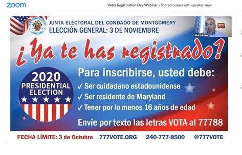 Voter Registration Day Webinar