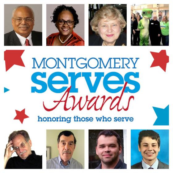 Montgomery serves award 2020