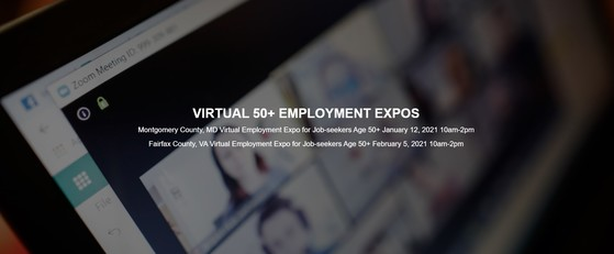 Virtual Employment Expo for 50-plus job seekers