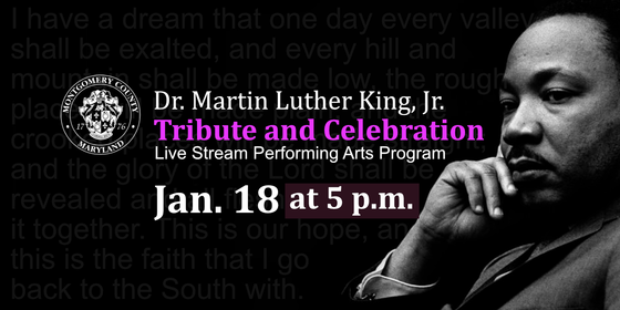 County to Honor Life and Legacy of Dr. Martin Luther King, Jr. in Virtual Celebration on Monday, Jan. 18