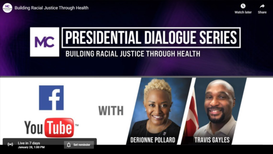 presidential dialogue series on Jan. 28