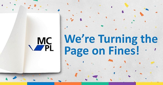 we're turning the page on fines!
