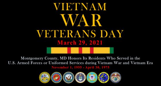 veterans affairs honoring Vietnam war