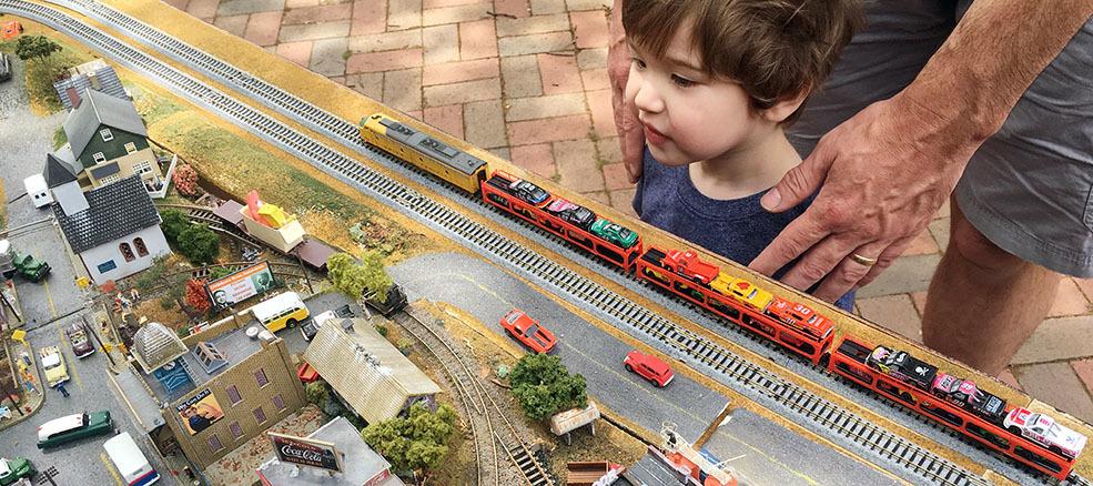 virtual train day photo