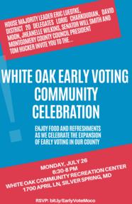 white oak event