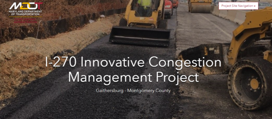 I-270 innovative congestion management project