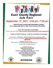 east county regional job fair