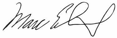 marc elrich signature