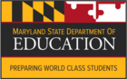 Image Maryland State Department of Education Logo