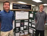 Students Presenting Maryland History Day Project to Board