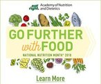 Image March is National Nutrition Month