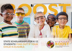 Image BOOST Scholarship Flier