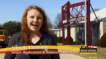 Image: Allison Fleming, A senior at Howard County's Applications and Research Laboratory