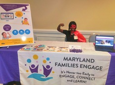 MFE table at MSFCCA conference