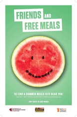 Image of Summer Meals Poster