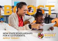 Image BOOST Scholarship Logo