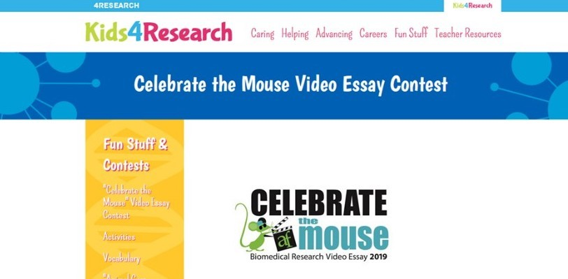 Carroll County Public Schools Celebrate the Mouse Biomedical Research Video Essay Contest