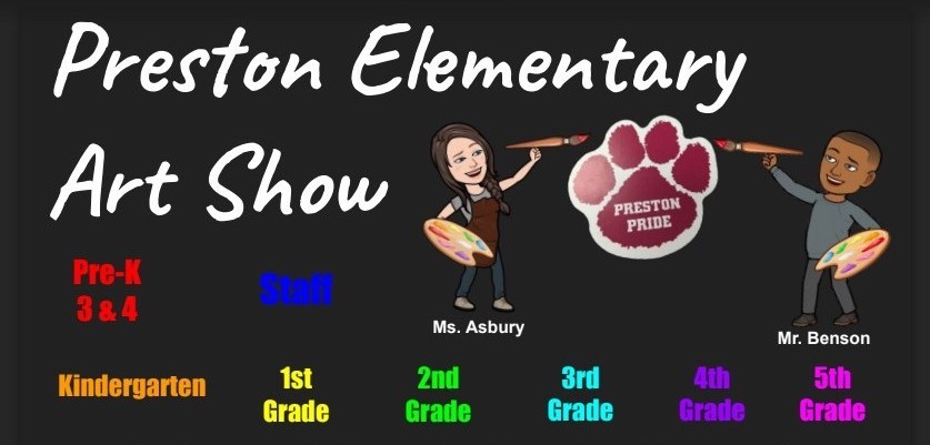 Caroline County Preston Elementary Art Show 2020