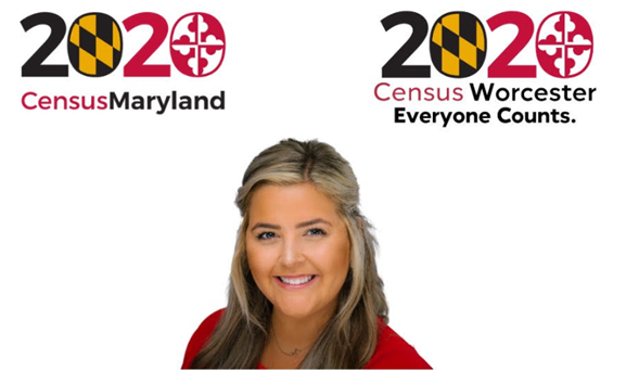 Worcester County Public Schools Communication Technology Assistant, Jordyn Kuczak minated as a 2020 Census Champion!