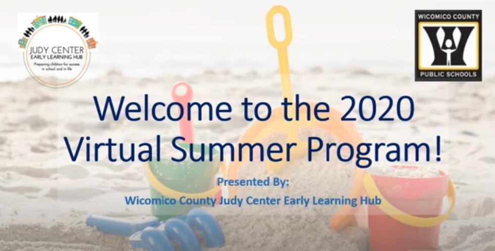 Wicomico County Virtual Summer Fun Program 2020
