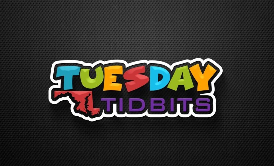 Multicolored Tuesday Tidbits header logo