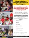 Provider grant flyer