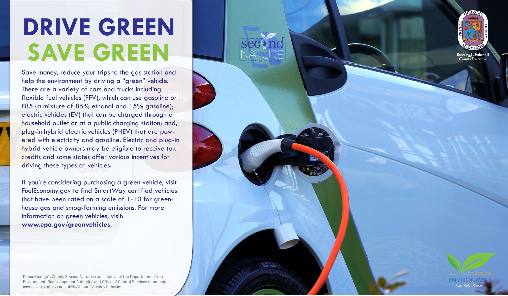 Drive Green, Save Green