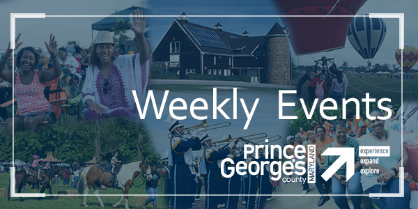 Collage of people around Prince George's County having fun: Weekly Events