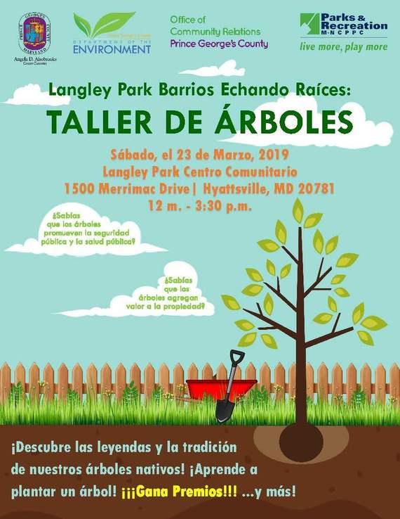 Langley Park Tree Workshop 03.2019 Spanish